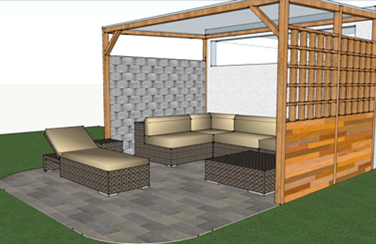 Overdekte Zithoek Tuin : Overdekte zithoek tuin images schuur ombouwen tot open